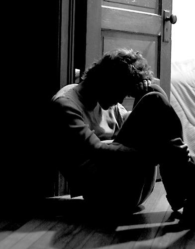 مرد افسرده