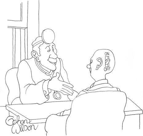 ببین آقای ویلسون، اگه فکر میکنی که این داروها هم جواب نداده، یه راه آخری هم هست!