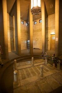 دید داخلی آرامگاه ابنسینا